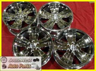 SIERRA YUKON 20 CHROME TAKE OFF WHEELS FACTORY OEM RIMS 5329