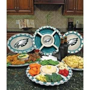 Philadelphia Eagles Memory Company Team Ceramic Plate NFL Football Fan