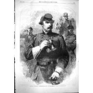 1861 PORTRAIT GENERAL MCLELLAN COMMANDER IN CHIEF WAR