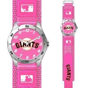 MLB San Francisco Giants Pink Girls Watch