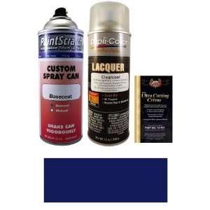 Oz. Dark Blue Metallic Spray Can Paint Kit for 1998 Infiniti QX4 (BS3