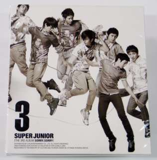 Super Junior  Sorry Sorry (3rd Ver.C)(Free Poster+Gift)