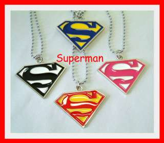 Mens & Ladys SUPER MAN Dog Tag, Dogtag, Necklace, Chain Pendant