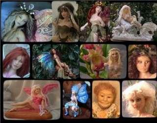 OOAK Fairy Art Doll Brina and Liam Fantasy Faery Fae Artdoll