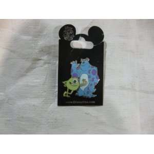Disney Pin Mike Wazowski and Sulley: Toys & Games