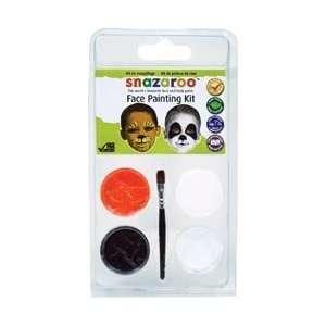Reeves Snazaroo Face Painting Mini Theme Kit Wild Animals; 3 Items