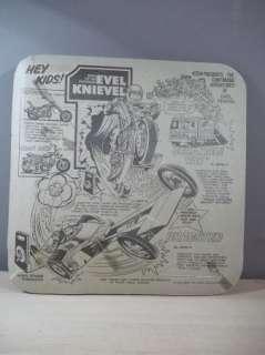 RARE VINTAGE 1975 EVEL KNIEVEL STUNTMEN RESCUE SET IDEAL MIB NIB