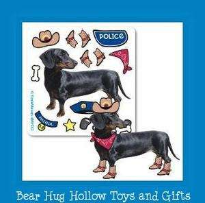 15 Make Your Own Dachshund Doxie Dog Stickers Favors