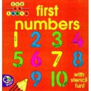 First Numbers Bb (Fun to Learn) (9780749826291): Nina Filipek: Books