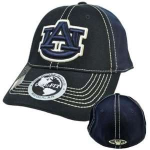 Auburn University Tigers Hat Cap NCAA Flex Fit Stretch Stitch Top of