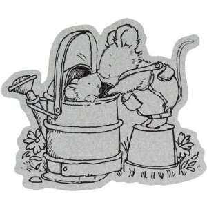 Penny Black Cling Rubber Stamp 4X5.25 Hello Dear Arts