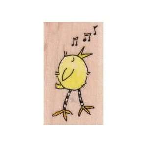 Penny Black Rubber Stamp 1.5X2.25 Chirping: Home
