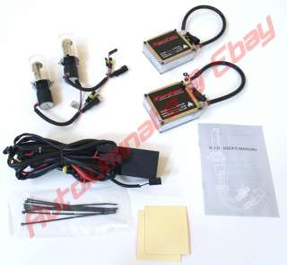 White 9007 6000K Hi/Lo Bi Xenon HID Conversion Kit