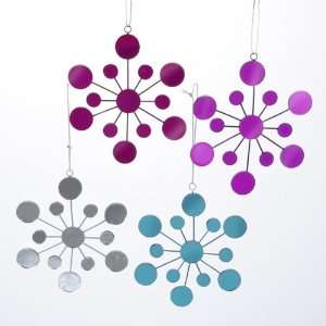 Club Pack of 12 Tween Christmas Colorful Mirrored