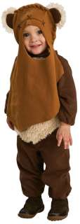 EWOK STAR WARS TODDLER SIZE 2 4 BOYS HALLOWEEN COSTUME Ages 1 2 *BRAND