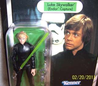 STAR WARS LUKE SKYWALKER JEDI KNIGHT VINTAGE CARD RARE 653569549024