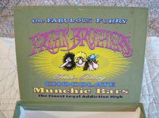 FABULOUS FURRY FREAK BROTHERS CIGAR STASH BOX EMPTY CANDY BOX GILBERT