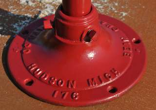 Chamberlin MFG CO Hudson Mich. Cast Iron Farm Hand Water Well Pump
