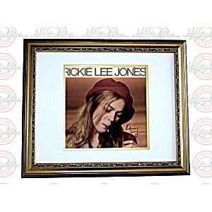 RICKIE LEE JONES Autographed Signed FRAMED LP Album