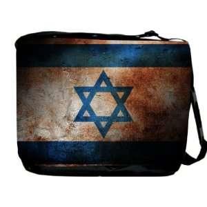 Rikki KnightTM Israel Flag Messenger Bag   Book Bag