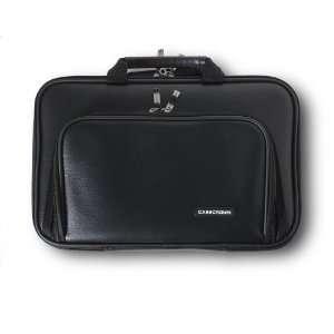 CaseCrown Double Memory Foam Pocket Case (Black) for Apple MacBook Air