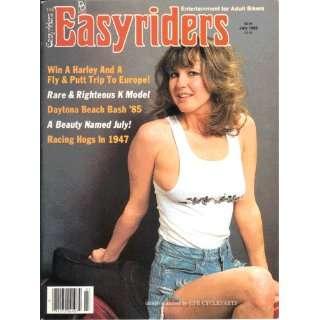 EASYRIDERS MAGAZINE    JULY 1985 ISSUE: EASYRIDERS: Books