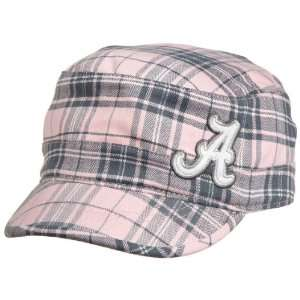 NCAA Womens Alabama Crimson Tide Metro Cadet Hat (Pink Plaid, One