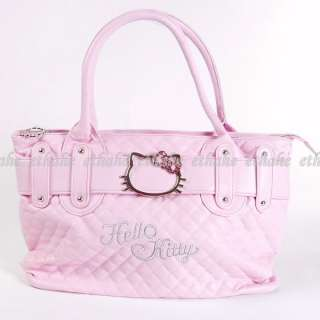 Hello Kitty Handbag Tote Shopping Hand Bag Pink 2E0L