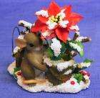 Charming Tails mice YOU ADD COLOR TO THE SEASON