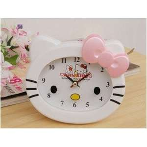 Cute Hello Kitty Style Alarm Clock(Pink Bow) Electronics