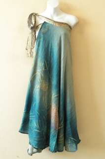Vintage Silk Magic 36 Length Wrap Skirt Halter Tube Maxi Dress + DVD