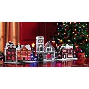 Lighted Christmas Village