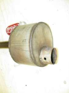 Stainless Steel High Quality Homemade Oliver 66 Tractor Muffler