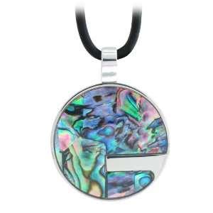 Inox Abalone Circle Jewelry Pendant (Pendant Only) Inox