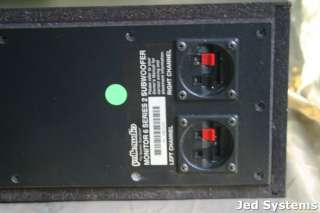 This auction is for a Polk Audio Monitor 6 Series 2 Speaker System (3