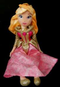 Aurora Disney Sleeping Beauty Fabric Soft Plush Doll