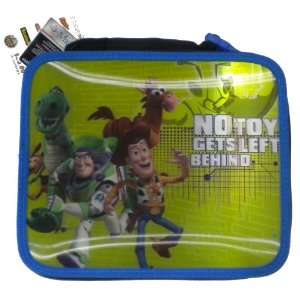 Disney Toy Story Lenticular Soft Insulated Lunchbox NO TOY GETS LEFT