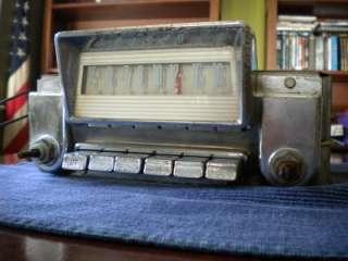 Vintage Late 50s FORD / MERCURY Tube Car Radio FOMOCO