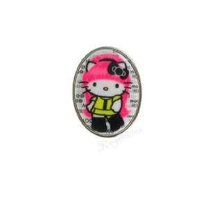 Tarina Tarantino Hello Kitty Pink Head Taxi Mod Ring
