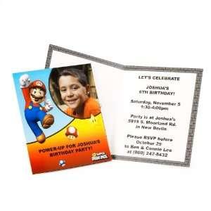 Super Mario Bros. Personalized Invitations (8) Health