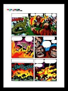 Jack Kirby Devil Dinosaur #1 Rare Production Art Pg 8