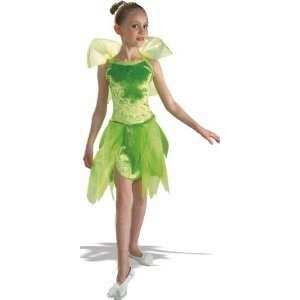 New Kids Halloween Tinkerbell Fairy Girls Costume L Girls