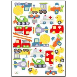 Transportation Nursery/Kids Room Peel & Stick Removable Home Wall Art