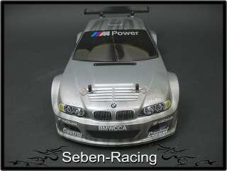 SF2 XK57 BMW M3 E46 GTR 18cxp Nitro RC Car 4WD RTR 110