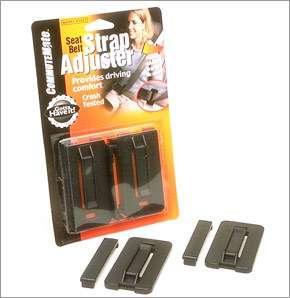 NEW Seatbelt Strap Adjuster CommuteMate Seat Belt Clip