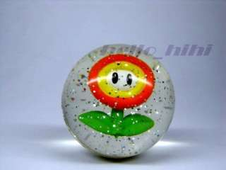 Wii Super mario galaxy figure power ball fire flower
