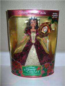 DISNEYS HOLIDAY PRINCESS BELLE DOLL