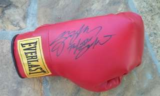 SERGIO MORA*SIGNED*AUTOGRAPHED*EVERLAST*BOXING*GLOVE*16 0Z*