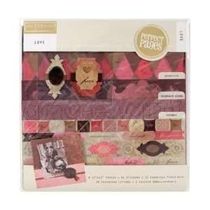 Love Page Kit 12X12 Arts, Crafts & Sewing