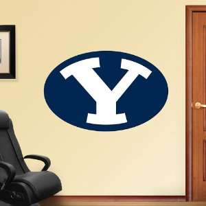 NCAA BYU Cougars Logo Vinyl Wall Graphic Decal Sticker
